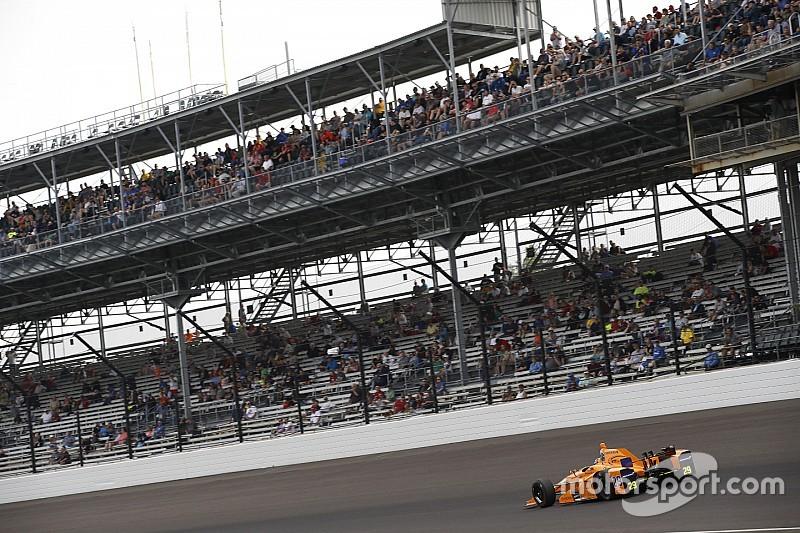 Vídeo: Alonso se cuela entre los cinco mejores en la clasificación de la Indy 500