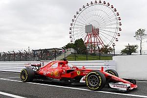Formula 1 Practice report Japanese GP: Vettel heads Hamilton in opening practice