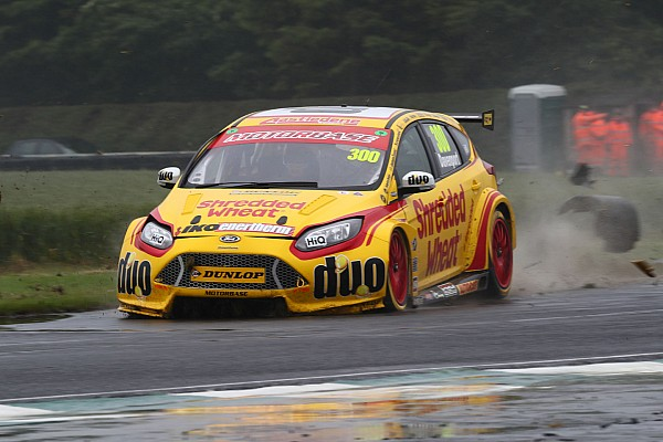 Davenport in a coma after Croft BTCC qualifying crash