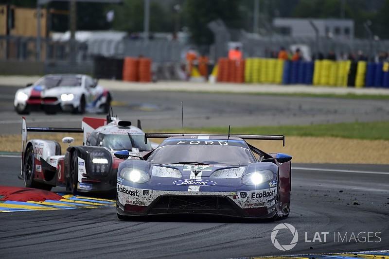 Bestraffingen voor Ford in Le Mans voor niet respecteren minimum rijtijd