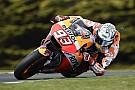 MotoGP EL4 - Márquez se positionne avant les qualifs, Dovizioso chute