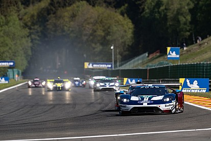 Tincknell Battered And Bruised After G Eau Rouge Hit