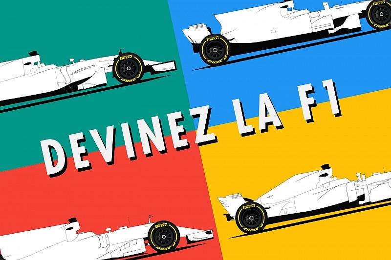 Quiz - Reconnaissez-vous les F1 2017 sans leur livrée?