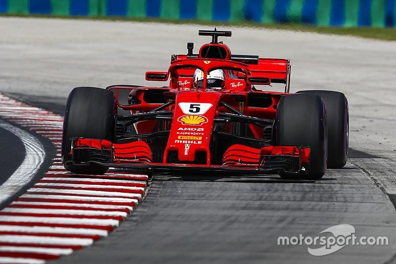 Vettel supera Verstappen e lidera segundo treino na Hungria