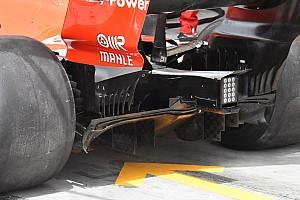Forma-1 Elemzés Ferrari - újra előkerült az Ausztráliában félretett diffúzor
