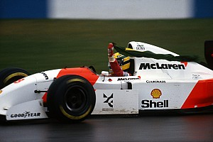 Vintage Breaking news Senna to be celebrated at Donington Historic Festival