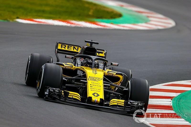 Hulkenberg: Yeni Renault hem dayanıklı hem hızlı