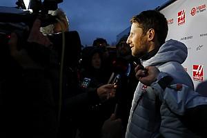 Formule 1 Réactions Grosjean déplore l'échec des discussions sur le planning des essais
