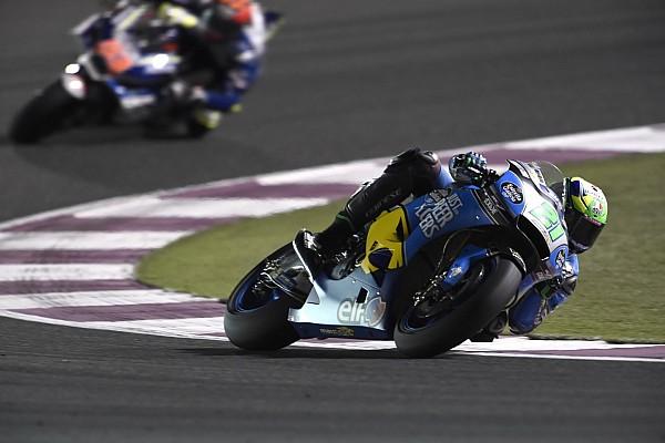 Morbidelli's Qatar debut pace