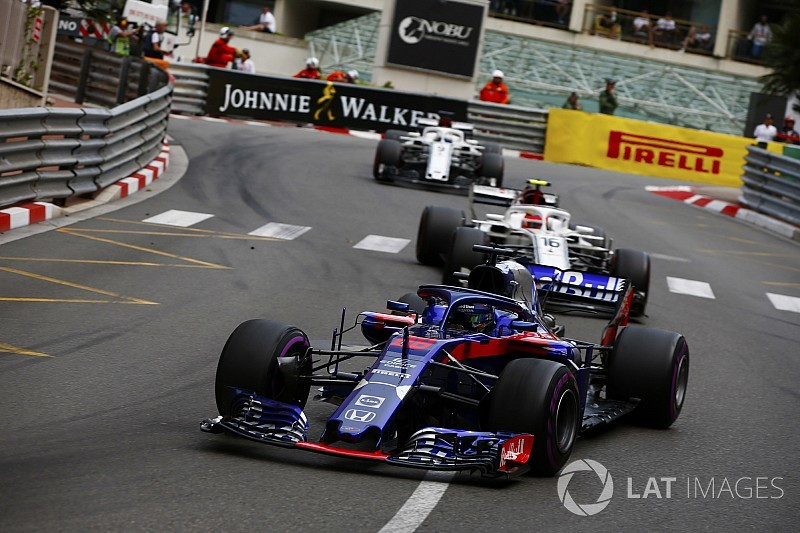 Leclerc: Toro Rosso Monaco'da oyun oynadı