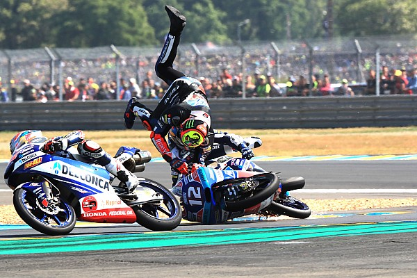 Moto3 I più cliccati Fotogallery: il rocambolesco GP di Francia di classe Moto3