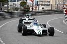 Fórmula 1 Fotos: los Rosberg exhibieron sus coches campeones del mundo en Mónaco
