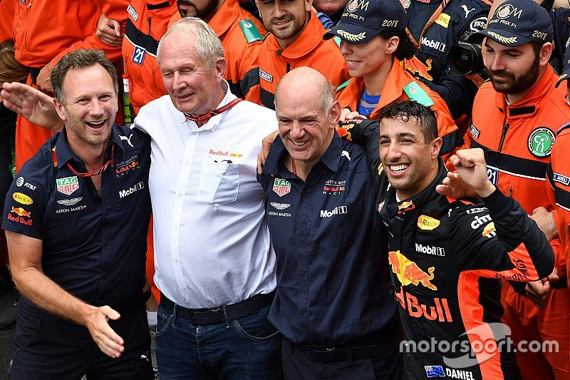 GP Monako: Ricciardo menang meski masalah mesin, Vettel kedua