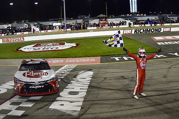 Christopher Bell fends off teammate to win Xfinity race at Richmond