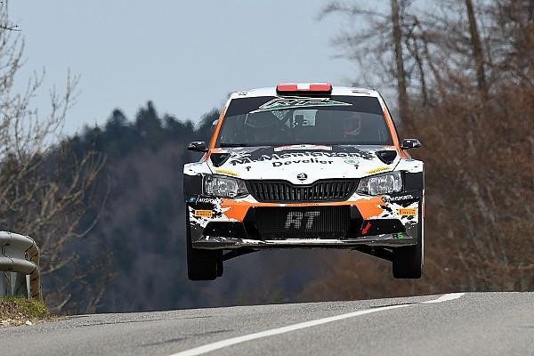 Schweizer rallye Etappenbericht Überragender Michaël Burri beim Critérium Jurassien