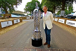 "IndyCar Breaking news Goodwood ""honored"" to display Borg-Warner Trophy"
