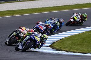 MotoGP Noticias Valentino Rossi no está contento con la agresividad de algunos pilotos