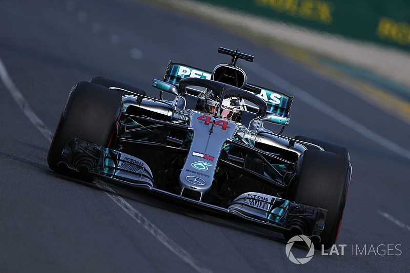 "Hamilton: Rivals catching Mercedes ""exciting"""