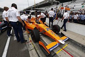 IndyCar Nieuws Motorwissel Alonso voor kwalificatie Indy 500