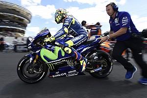 Rossi no tiene ninguna lesión y recibirá el alta este viernes