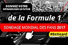 Motorsport Network lance le deuxième Sondage Mondial des Fans de Formule 1