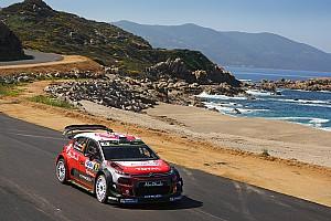 WRC Chronique Le tour du monde de Gabin Moreau :  Corse