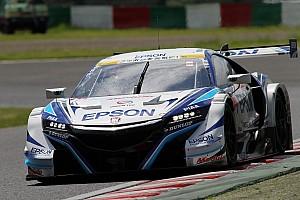 スーパーGT 速報ニュース 【スーパーGT】鈴鹿GT500途中経過:ランキング上位陣に続々ハプニング、64号車首位