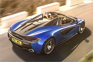 Automotive News McLaren stellt Roadster-Variante von Sportwagen 570S Spider vor