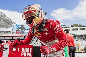 FIA F2 Últimas notícias Leclerc marca quarta pole seguida e dedica a pai falecido