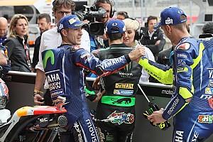Kualifikasi yang hampir memanas antara Vinales dan Rossi