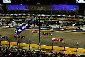 Формула 1 Новость «Они могли быть в слепой зоне Феттеля». Хэмилтон о старте в Сингапуре