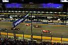 Формула 1 «Они могли быть в слепой зоне Феттеля». Хэмилтон о старте в Сингапуре
