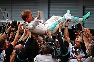 F1 レースレポート F1イタリアGP決勝:ロズベルグ逃げ切り2連勝! ハミルトンスタートで自滅