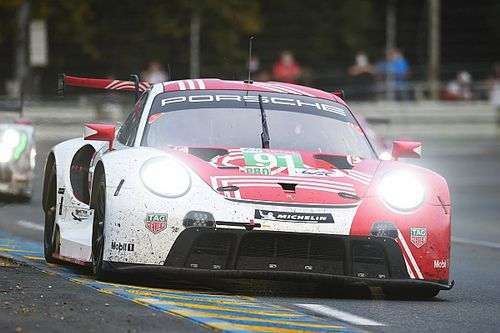 Porsche puzzled by lack of pace in troubled Le Mans run