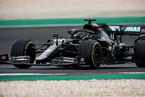 Hamilton says leg cramp made him lift off several times