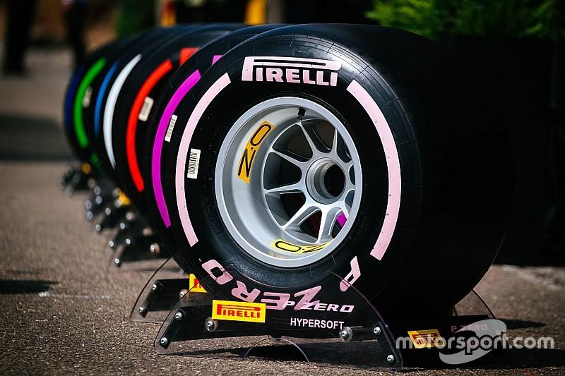 A Pirelli 2019-ben máshogy nevezi el a keverékeit