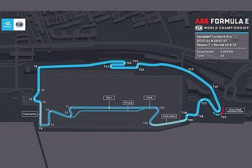 La Fórmula E revela el circuito actualizado de Londres