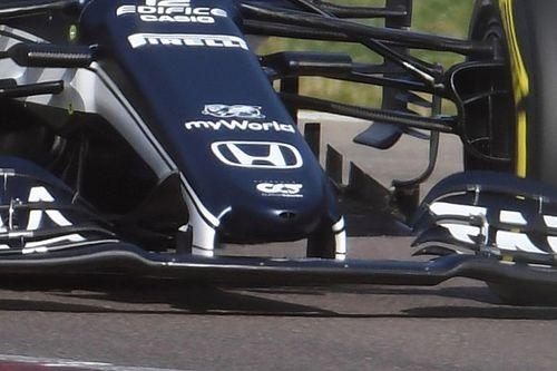 AlphaTauri revela en Imola su nueva nariz para la F1 2021