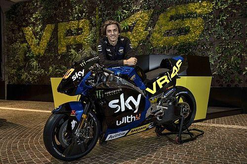 Marini onthult eerste VR46 MotoGP-livery ooit