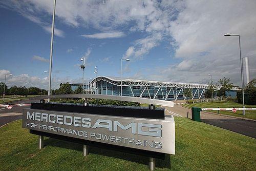 Le moteur de la Mercedes F1 W12 a démarré