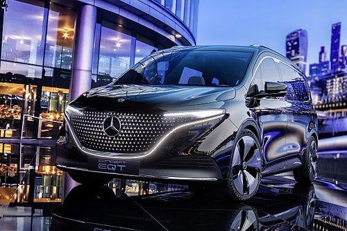 Mercedes dévoile le concept EQT 100% électrique