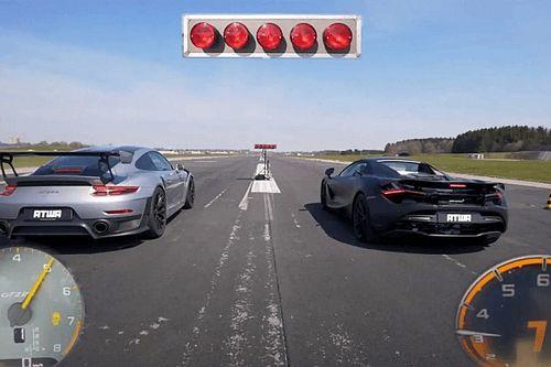 Tudja-e tartani a lépést a Porsche 911 GT2 RS a McLaren 720S-sel?