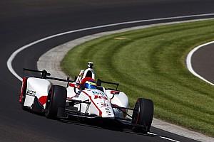 IndyCar Relato do treino livre Bourdais lidera dia com chuva e batidas em Indy; Alonso é 4º