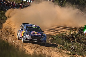 WRC Resumen de la etapa Ogier toma el relevo tras un fallo de Tanak en Portugal