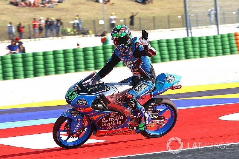 Moto3 San Marino: Bastianini pole, Mir start ketiga