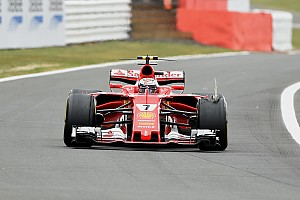 Formula 1 Breaking news External damage caused Raikkonen British GP tyre problem