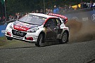 World Rallycross Peugeot conferma l'impegno nel Mondiale Rallycross e rinnova Loeb