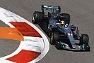 Mercedes bei F1 in Sochi in Reihe 2: Hamilton erwartet