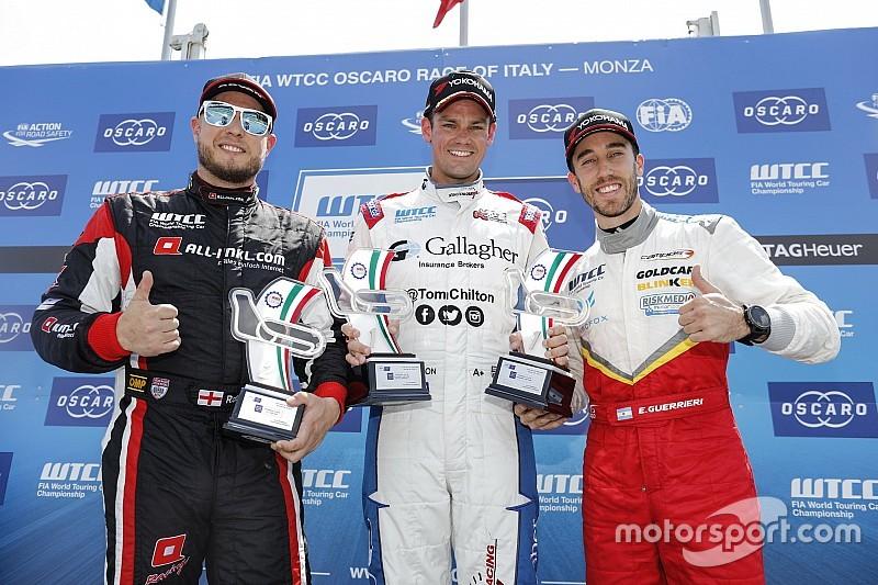 Tom Chilton gana la Open Race del WTCC en Monza