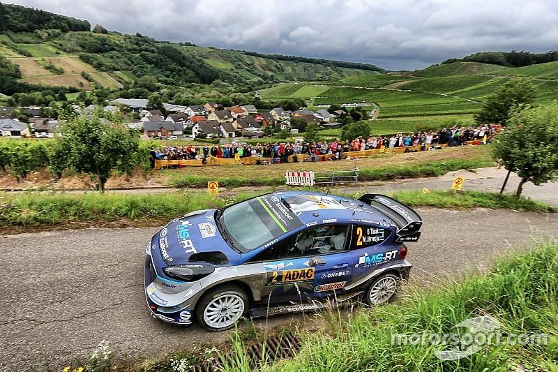 Almanya WRC: Tanak son güne 21 sn farkla lider giriyor